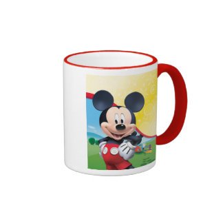 Mickey Mouse Clubhouse | Playhouse Ringer Mug