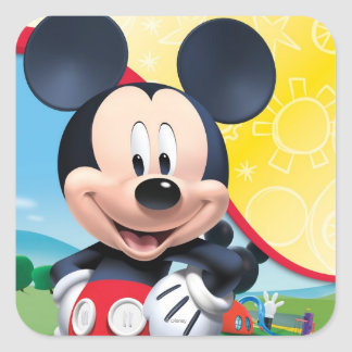 Mickey Mouse Clubhouse | Playhouse Square Sticker