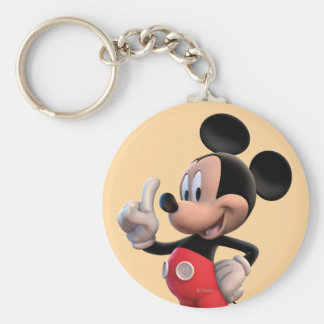 Mickey Mouse Clubhouse | Pointing Basic Round Button Keychain