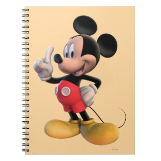 Mickey Mouse Clubhouse | Pointing Spiral Notebook