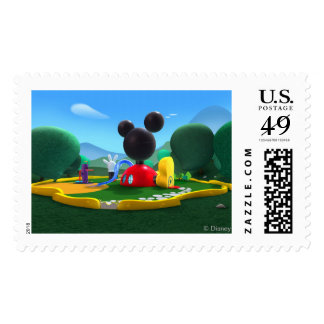 Mickey Mouse Clubhouse Postage Stamp