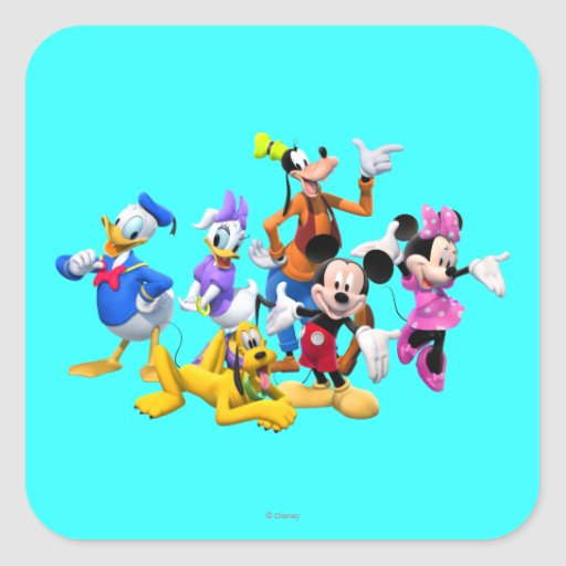 Mickey Mouse Clubhouse Sticker