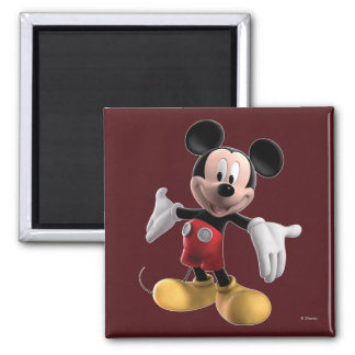 Mickey Mouse Clubhouse | Welcome 2 Inch Square Magnet