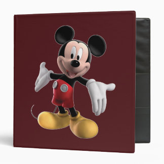Mickey Mouse Clubhouse | Welcome 3 Ring Binder