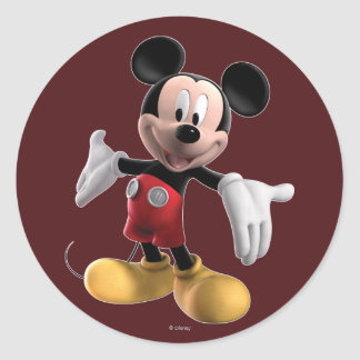 Mickey Mouse Clubhouse | Welcome Classic Round Sticker
