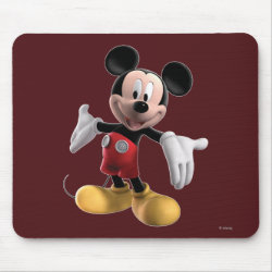 Mousepad with Welcoming Mickey Mouse in 3D design