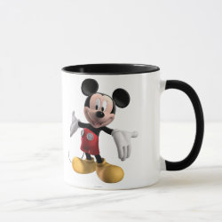 Combo Mug with Welcoming Mickey Mouse in 3D design