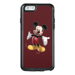 OtterBox Symmetry iPhone 6/6s Case with Welcoming Mickey Mouse in 3D design