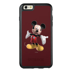 OtterBox Symmetry iPhone 6/6s Plus Case with Welcoming Mickey Mouse in 3D design