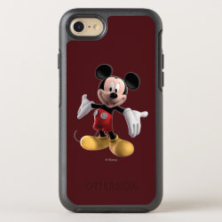 OtterBox Apple iPhone 7 Symmetry Case with Welcoming Mickey Mouse in 3D design