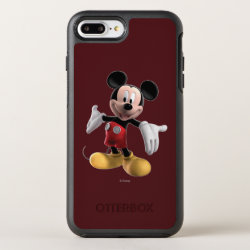 Welcoming Mickey Mouse in 3D OtterBox Apple iPhone 7 Plus Symmetry Case