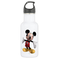 Welcoming Mickey Mouse in 3D Water Bottle (24 oz)