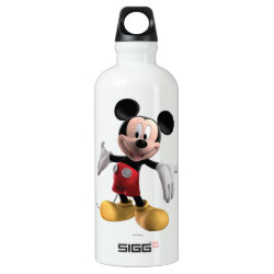 SIGG Traveller Water Bottle (0.6L) with Welcoming Mickey Mouse in 3D design