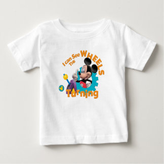 Mickey Mouse Clubhouse | Wheels Turning Baby T-Shirt