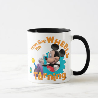 Mickey Mouse Clubhouse | Wheels Turning Mug