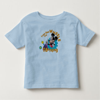 Mickey Mouse Clubhouse | Wheels Turning Toddler T-shirt