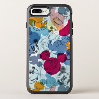 Mickey Mouse | Color Pattern OtterBox Symmetry iPhone 7 Plus Case