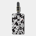 Mickey Mouse | Crowd Pattern Luggage Tag