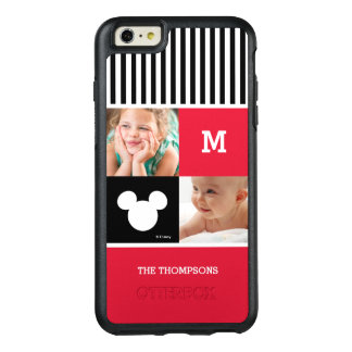 Mickey Mouse | Custom Photos & Monogram OtterBox iPhone 6/6s Plus Case