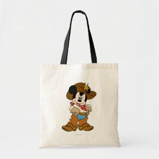 Mickey Mouse el vaquero Bolsa De Mano