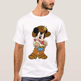 Mickey Mouse el vaquero Playera