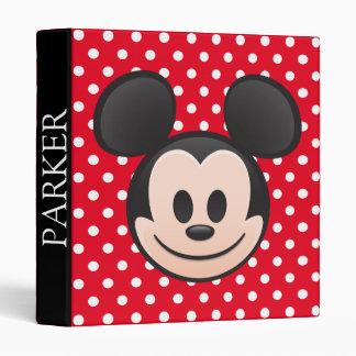 Mickey Mouse Emoji Binder