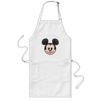 Mickey Mouse Emoji Long Apron