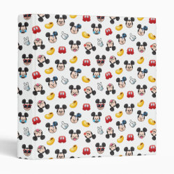 Avery Signature 1' Binder with Mickey Mouse Patterns design