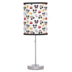 Mickey Mouse Patterns Table Lamp