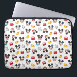 "Mickey Mouse Emoji Pattern Laptop Sleeve<br><div class=""desc"">Express yourself with this super cute Mickey Mouse pattern.</div>"