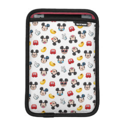 Mickey Mouse Patterns iPad Mini Sleeve