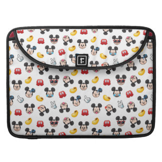 Mickey Mouse Emoji Pattern Sleeve For MacBook Pro