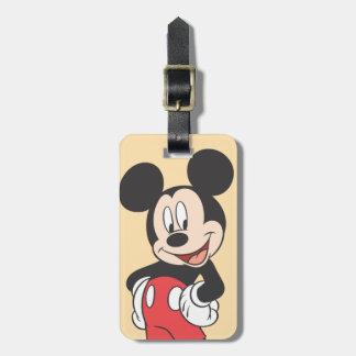 Mickey Mouse Etiquetas Maleta