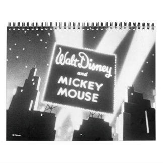 Mickey Mouse Final Frame Collection Calendar