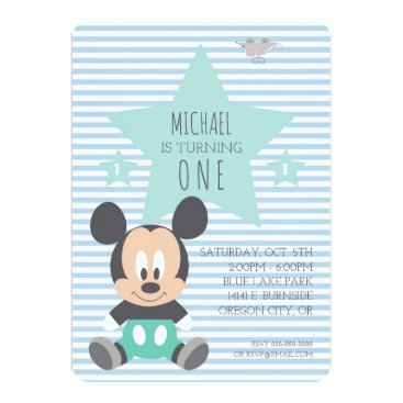 disney Mickey Mouse | First Birthday Card