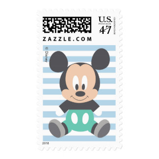 Mickey Mouse   First Birthday Postage