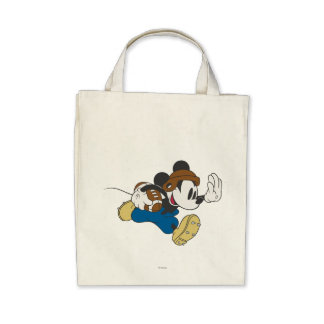Mickey Mouse Football Player 4 Canvas Bags