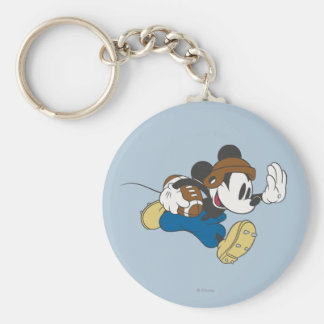 Mickey Mouse Football Player 4 Keychain