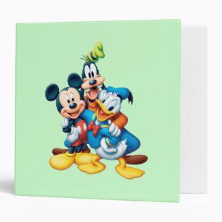Mickey Mouse & Friends 1 Vinyl Binders