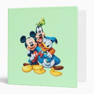 Mickey Mouse & Friends 1 Vinyl Binder