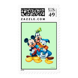 Mickey Mouse & Friends 1 Postage Stamp