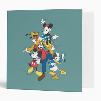 Mickey Mouse & Friends 2 Vinyl Binders