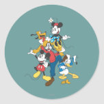 Mickey Mouse & Friends 2 Classic Round Sticker