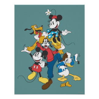 Mickey Mouse & Friends 2 Poster