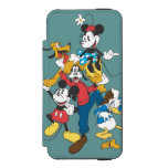 Mickey Mouse & Friends 2 Incipio Watson™ iPhone 5 Wallet Case