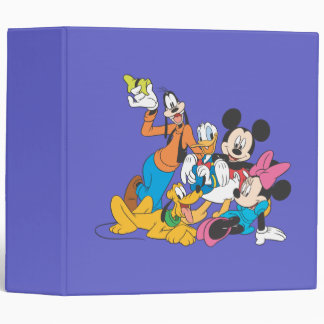 Mickey Mouse & Friends 3 Binder