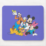 Mickey Mouse & Friends 3 Mouse Pad