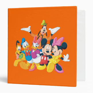 Mickey Mouse & Friends 4 3 Ring Binders