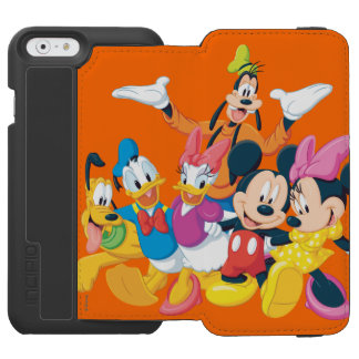 Mickey Mouse & Friends 4 Incipio Watson™ iPhone 6 Wallet Case