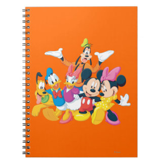 Mickey Mouse & Friends 4 Note Book